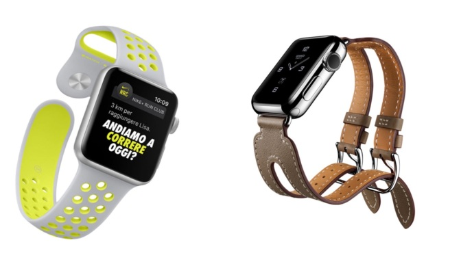 Preparatevi: Apple Watch Series 2 indossa Nike e Hermès!